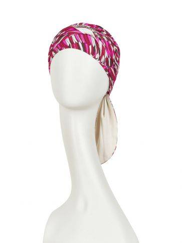 Beatrice turban with ribbons - Neuheiten